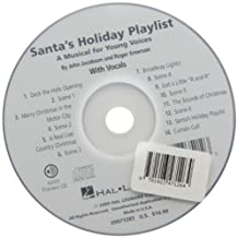 Santa's Holiday Playlist: A Musical for Young Voices