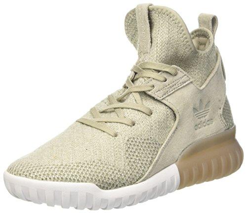 adidas Tubular X PK, Scarpe da Basket Uomo Beige (Sesame/Clear Brown/Trace Cargo)