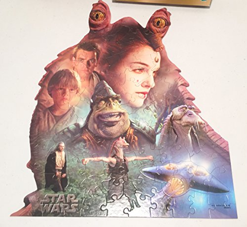 Star Wars Episode 1 Jar Jar Binks Shaped Puzzle