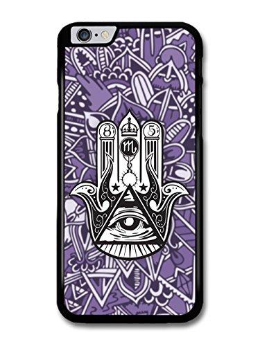 Trippy Purple Hamsa with Illuminati Eye Pyramid hülle für iPhone 6 Plus 6S Plus