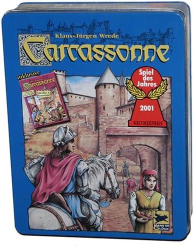 Schmidt Spiele 48147 – Carcassonne, Comercial y Constructor Doble Pack, 2. Ampliación: Amazon.es: Juguetes y juegos