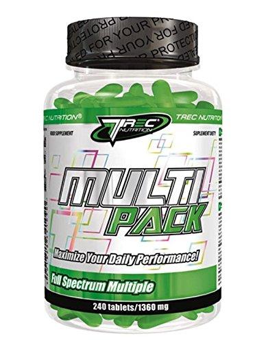 Trec Nutrition Multipack, Complejo de Vitaminas y Minerales - 240 cápsulas: Amazon.es: Salud y cuidado personal