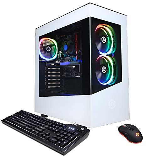CyberpowerPC Gamer Master Gaming PC, AMD Ryzen 3 3100 3.6GHz, GeForce GT 1030 2GB, 8GB DDR4, 240GB SSD, 2TB HDD, WiFi…