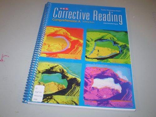 Corrective Reading, Comprehension A: Thinking Basics Teacher Presentation, Book 2