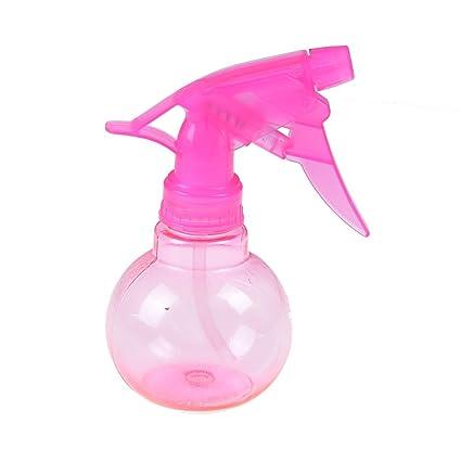 SuxiDia - Botella de plástico con forma esférica de agua, para el pelo, belleza