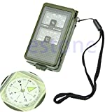 10 in 1 Multifunction Outdoor Military Compass Camping Hiking Survival Tool Kit