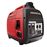 2000 Watt Portable Generator - Honda Super Quiet Gasoline Portable Generator with Inverter (EU2000T1A1 2000Watt with Eco-Throttle)