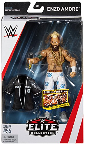WWE Elite Collection Series # 55 Enzo Amore Action Figure by WWE