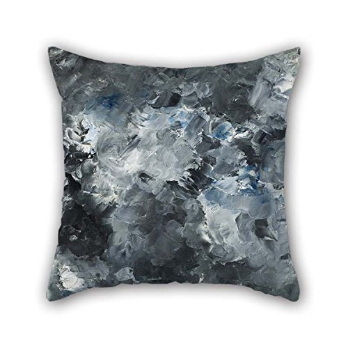 16 X 16 Inches / 40 by 40 cm Oil Painting August Strindberg - The Town Cushion Covers Two Sides is Fit for Teens Boys Office Christmas Father Home Divan