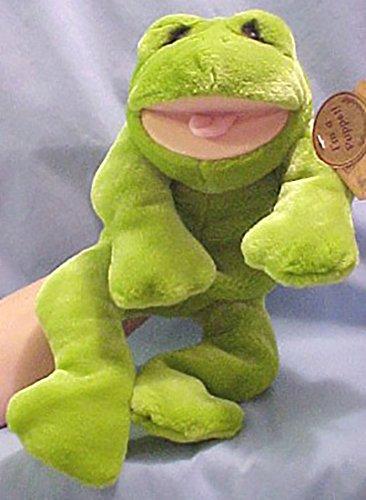 Lou Rankin Herbert the Frog Full Body Hand Puppet