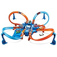 Hot Wheels Criss Cross Crash Track Set (Exclusivo de Amazon)