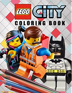 Lego Coloring book: In this Childrens Coloring Book there are ...