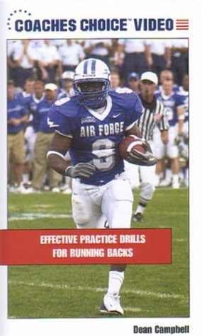 Football: Effective Practice Drills for Running Backs [VHS] - Football Drills Running Backs