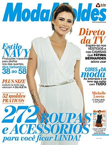Moda Moldes Ed.90 (Portuguese Edition) by [Editora, On Line]