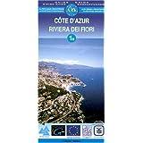Carte de randonnée : Côte-d'Azur (Français - Italien)