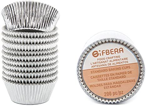 Gifbera Silver Standard Cupcake 200 Count product image