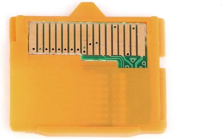 2pcs Adaptador Micro SD MASD-1 C/ámara TF a XD Adaptador de inserci/ón de tarjeta para OLYMPUS Amarillo 25 x 22 x 2 mm L x W x H