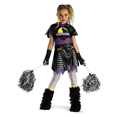 [D/ceptions Wolf Pack Leader Cheerleader Child Girls Costume Tween 14-16] (Leader Of The Pack Costumes)