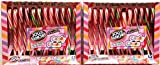 Jolly Rancher Candy Canes in Bold Fruit Smoothie Flavors, 6.3-Ounce Boxes, 12-Count Packages (Pack of 2)