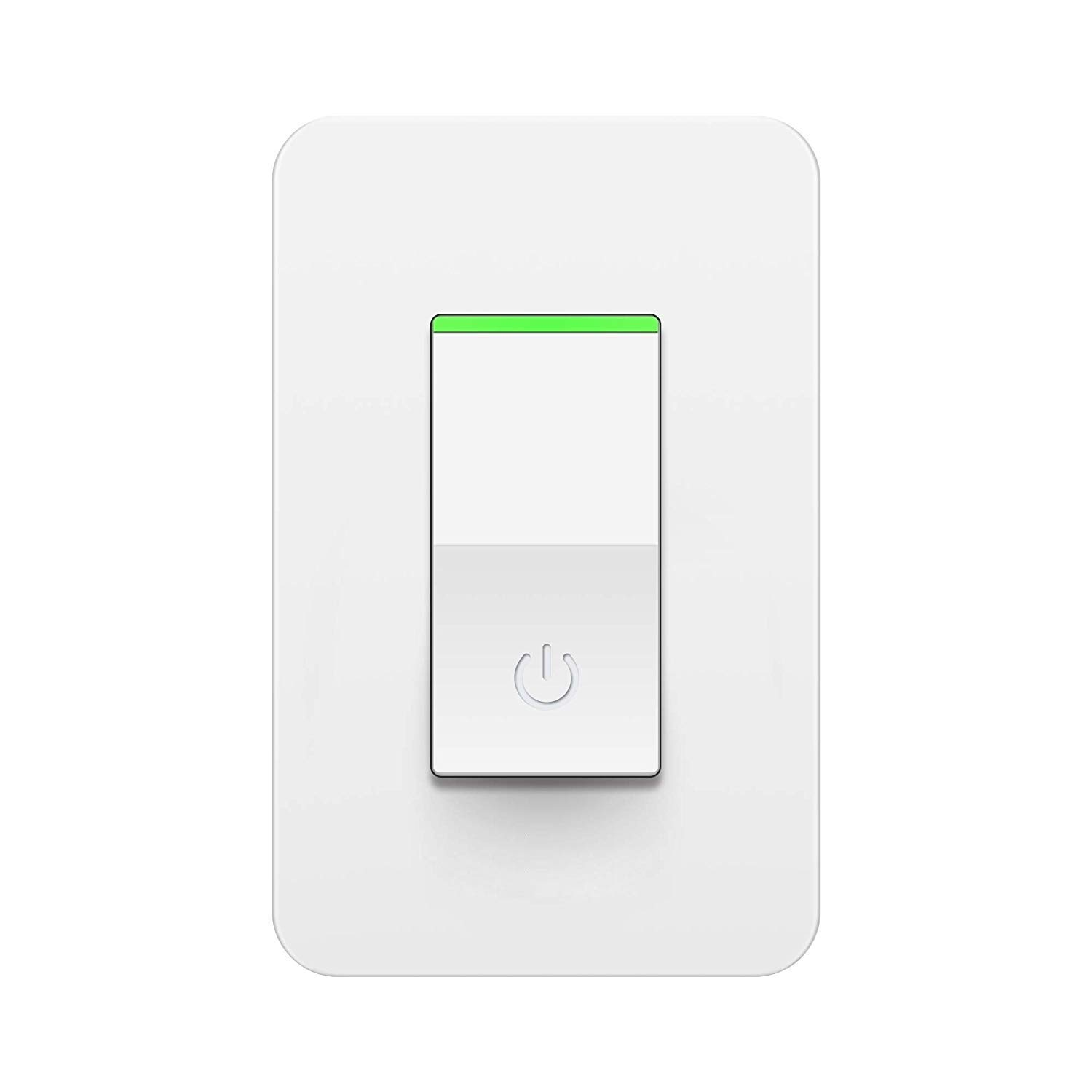 Alexa Smart Light Switch WiFi Wall Switch Works with Google Home, IFTTT, Single Pole Only