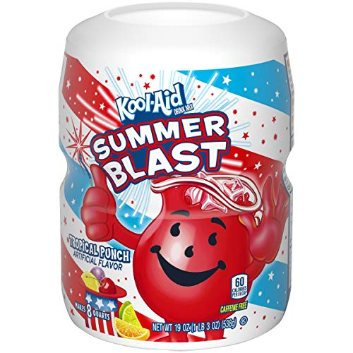 Kool Aid Tropical Punch Drink Mix (19 oz Canister)