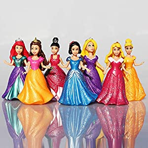 Allegro-Huyer-14pcslot-Cartoon-Anime-Princess-Snow-White-Cinderella-Mermaid-Action-Figure-Set-with-Magic-Clip-Dress-Best-Kids-Toys-for-Girls