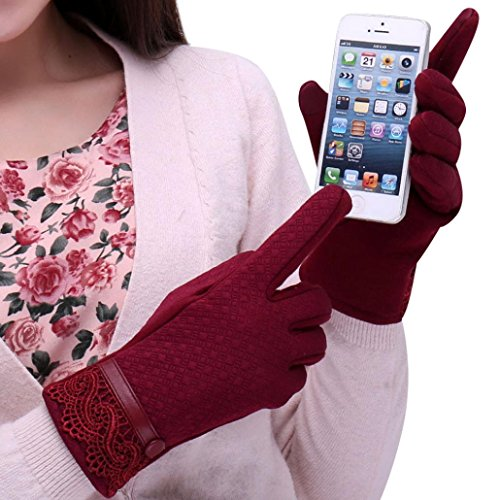 Franterd Women Winter Outdoor Sport Warm Gloves Touch for sale  Delivered anywhere in USA