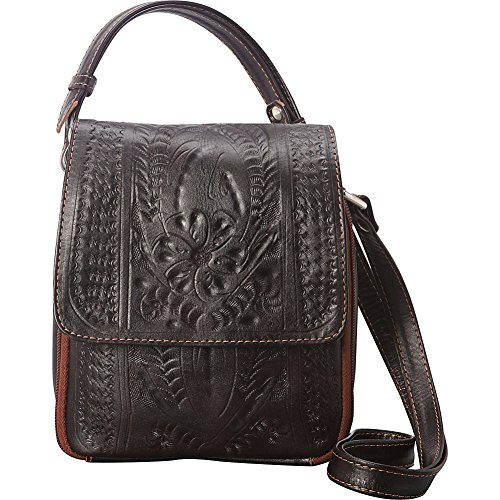 Purse Ropin Ropin Brown Crossover West Purse Brown Ropin Crossover West West aqnR4wcX