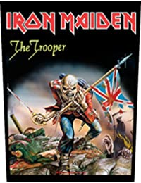 Iron Maiden The Trooper Official Backpatch (35cm x 26cm)