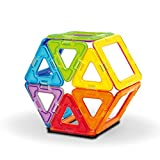 FLYING START Magna Blocks 20 pcs Magnetic Toy construction set for ages 3+ (Multi colour)
