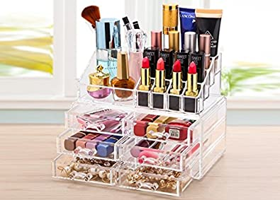 Buy Shag Makeup Organizer Dressing Table Organiser Cosmetic Storage
