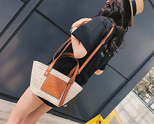 Bolso Brown Con Mujer Negro JARONG Bolso De Un De Hombro txBXTzwX