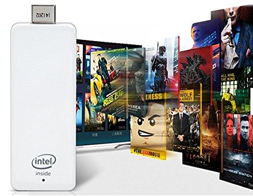 MEEGOPAD T01 Quad Core Windows 8 Mini PC TV Dongle 2G/32G WiFi BT US Plug (White)