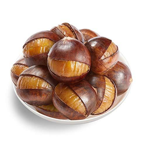 粒上皇 坚果炒货 即食板栗 开口熟栗120g Fried instant chestnut on grain 120 g ripe chestnut