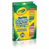 Crayola 5881060006 20 Plumones Delgados Lavables