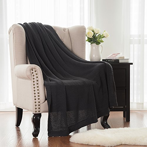 Knitted Throw Blanket Acrylic blanket
