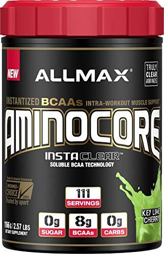 ALLMAX Nutrition Aminocore BCAAs, Key Lime Cherry, 1166 g