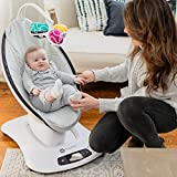 4moms mamaRoo 4 Baby Swing, Bluetooth Baby Rocker