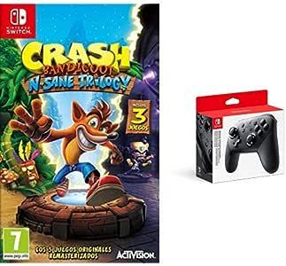 Crash Bandicoot N.Sane Trilogy & Nintendo Switch - Mando Pro ...