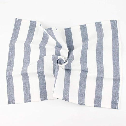 KOIYOI 30 x 45 cm Servilleta de Tela de Moda 100% algodón Estera ...