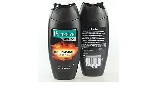 Amazon.com: Palmolive Palmolive Men 2 In 1 Energising Bosy & Hair Doccia Shampoo, 250Ml: Beauty