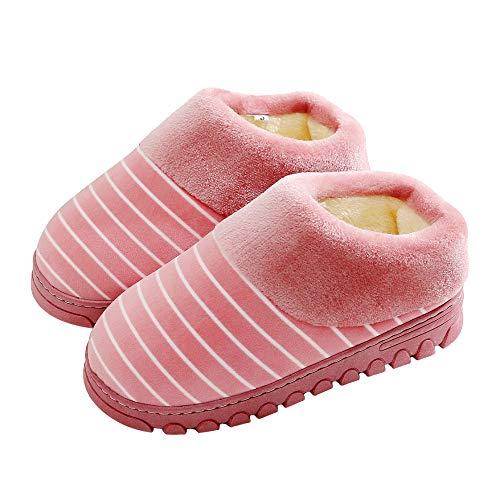 flop Ménage Couple Coton Domicile flip À Épaississement Chaussures en en Rose Pantoufles Compris Fond Femmes d'hiver Intérieur Mois Peluche Antidérapant Chaud Coton Tout De dtxqFCqw8P