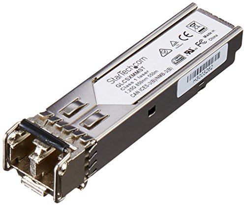 StarTech com Transceiver GLC SX MM Compatible GLCSXMM10PST