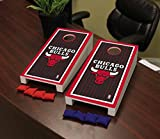 Victory Tailgate Chicago Bulls NBA Basketball Desktop Cornhole Game Set Border Version