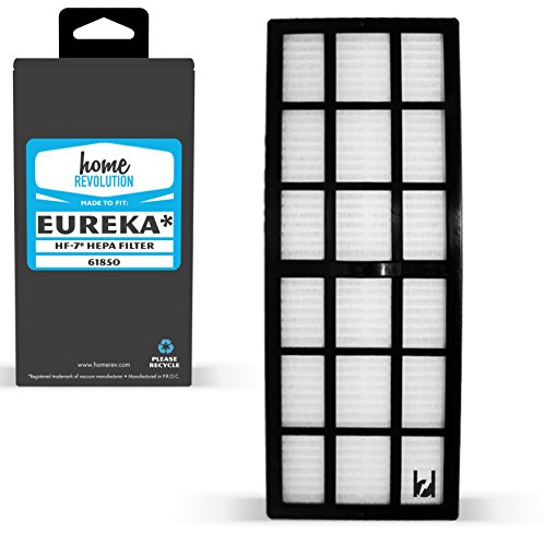 Home Revolution Replacement HEPA Filter, Fits Eureka HF-7 Vacuum Models and Part 61850, 61850A, 61850B, 61850C