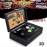 "Shine-U 2020 in 1 3D Pandora's Box Arcade Machine Newest System JAMMA HDMI Retro Video Games Console 10"" Screen"