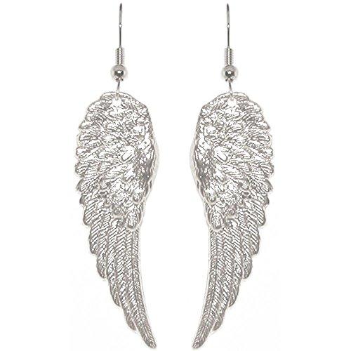 Angel Wing Dangle (Nickel Free 1 7/8