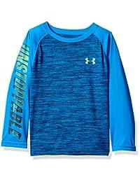 Under Armour Boys Long Sleeve Raglan Graphic Tee Shirt T-Shirt