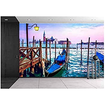 Amazon.com: wall26 - Scenic Landscape at Autol, Logrono ...