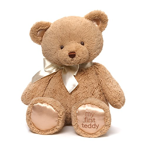Baby GUND My First Teddy Bear Stuffed Animal Plush, Tan, 18